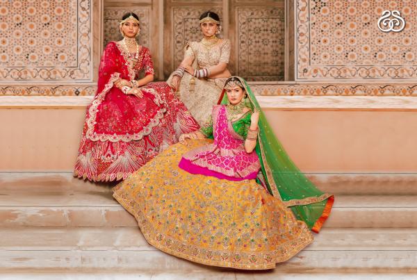 Indian Lehenga Choli For Wedding