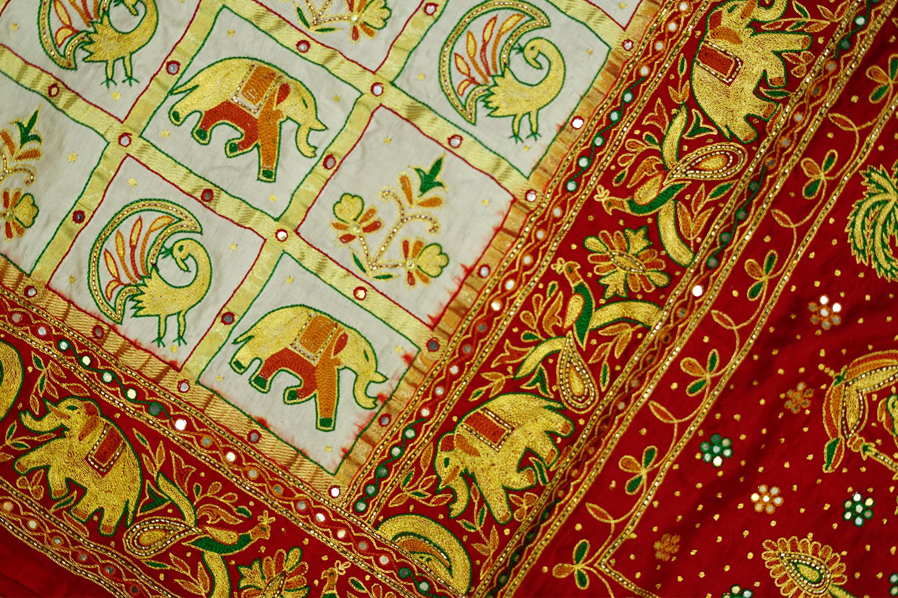 Gujarati Panetar Sarees For Bride