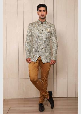 Oyester Jodhpuri Suit with Trouser