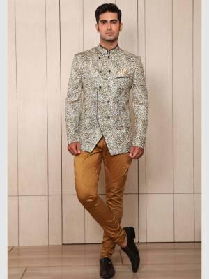 Oyester Jodhpuri Suit with Trouser