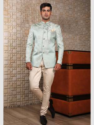 Ivory Jodhpuri Suit with Trouser